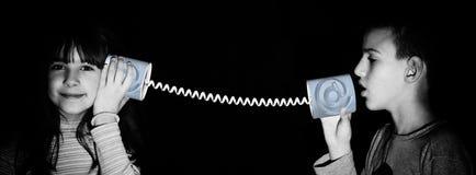 Uma comunicação do Internet Imagem de Stock