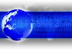 Uma comunicação do Internet Imagens de Stock