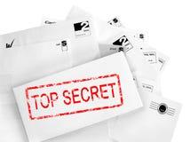 Uma comunicação do segredo máximo. Conceito da privacidade. Imagens de Stock Royalty Free