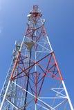 Uma comunicação do telefone celular Foto de Stock