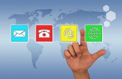 Uma comunicação e conexão Imagens de Stock Royalty Free