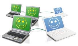 Uma comunicação eficaz Imagens de Stock Royalty Free