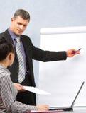 Uma comunicação empresarial imagem de stock