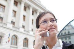 Uma comunicação empresarial 2 imagens de stock