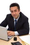 Uma comunicação empresarial foto de stock royalty free