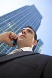 Uma comunicação executiva Foto de Stock