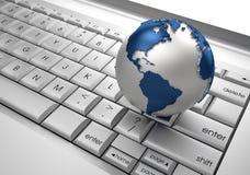 Uma comunicação global Imagens de Stock Royalty Free