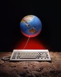 Uma comunicação global Fotos de Stock Royalty Free