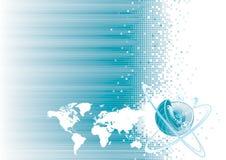 Uma comunicação global Imagem de Stock
