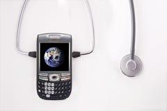Uma comunicação healty global Imagem de Stock Royalty Free