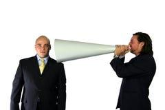Uma comunicação mega Fotos de Stock