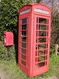 Uma comunicação rural Foto de Stock