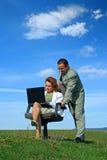 Uma comunicação sem fio Fotografia de Stock Royalty Free