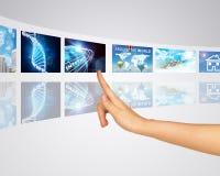 Uma comunicação, conexão e transporte Fotos de Stock