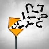 Uma comunicação da orientação do negócio Imagens de Stock Royalty Free