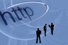 Uma comunicação do Internet Imagem de Stock Royalty Free