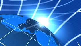 Uma comunicação global Foto de Stock Royalty Free