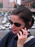Uma comunicação urbana Foto de Stock