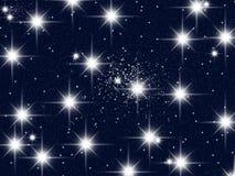 Uma congestão das estrelas Fotografia de Stock Royalty Free