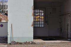 Abandonado devido à demolição Fotografia de Stock Royalty Free