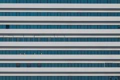 Janelas de vidro de construção Fotografia de Stock