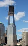 Uma construção do World Trade Center Fotografia de Stock