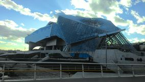 Uma construção em Lyon, França Imagem de Stock Royalty Free