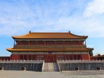 Uma construção no palácio imperial Imagens de Stock