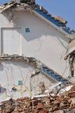 Saídas de emergência - demolição Imagem de Stock Royalty Free
