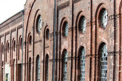 Uma construção velha está abandonada Foto de Stock Royalty Free