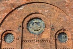 Uma construção velha está abandonada Imagens de Stock Royalty Free