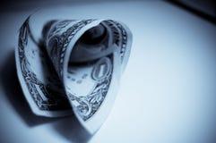Uma conta de dólar Imagem de Stock