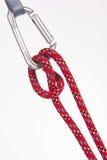 Uma corda vermelha Fotos de Stock Royalty Free