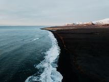 Uma costa islandêsa Foto de Stock Royalty Free