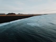 Uma costa islandêsa Foto de Stock