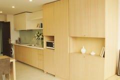 Uma cozinha Fotografia de Stock Royalty Free