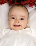Uma criança bonita de sorriso Imagem de Stock Royalty Free