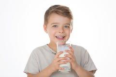 Uma criança de sorriso Fotografia de Stock