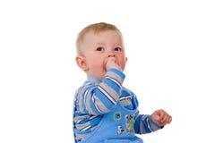 Uma criança pequena foto de stock
