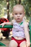 Uma criança surpreendida Imagem de Stock Royalty Free
