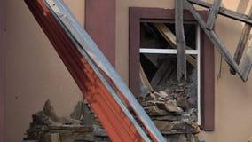 Uma crise em Ucrânia video estoque