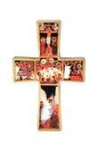Uma cruz do ícone Imagens de Stock