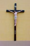 Uma cruz santamente. imagem de stock