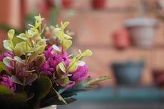 Uma cubeta da flor bonita Imagens de Stock Royalty Free