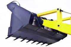 Uma cubeta da máquina escavadora Fotografia de Stock Royalty Free