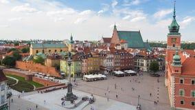 Uma da cidade velha de Varsóvia da rua (olhar fixo Miasto) é o distrito histórico o mais velho de Varsóvia (o século XIII) Foto de Stock Royalty Free