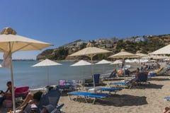 Uma da praia na Creta Foto de Stock