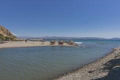 Uma da praia na Creta Fotografia de Stock