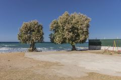 Uma da praia na Creta Fotografia de Stock Royalty Free