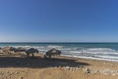 Uma da praia na Creta Fotos de Stock